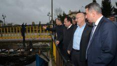 Terme'de taşkın koruma projeleri ele alındı
