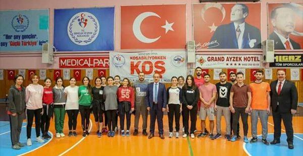 Vali Yavuz, amatör sporun sorunlarını dinledi