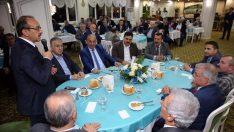 Vali Yavuz, esnaf temsilcileriyle buluştu
