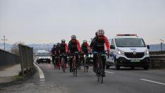 4. Sarıkamış Şehitlerini Anma Bisiklet Turu başladı