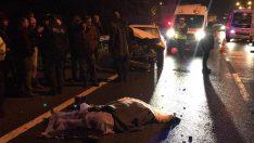 Ordu'da otomobilin çarptığı kadın öldü