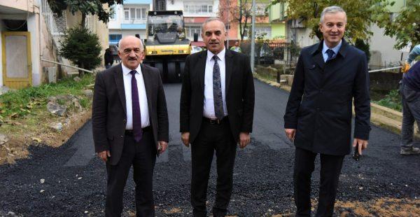 ALTINORDU BELEDİYESİ'NDEN BUCAK MAHALLESİNE SICAK ASFALT