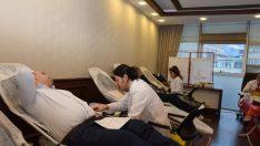 Altınordu Belediyesi Personellerinden Kan Bağışına Destek