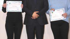 """Ünye'de """"Erasmus Plus"""" tanıtım ve sertifika programı"""