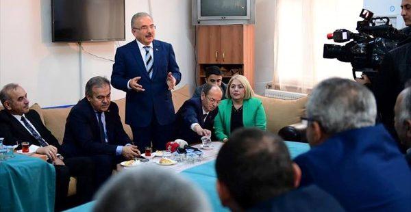 Hilmi Güler STK temsilcileriyle buluştu.
