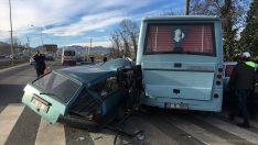 Ordu'da zincirleme trafik kazası: 2 ölü, 4 yaralı