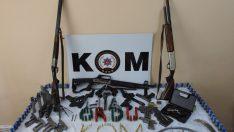 Ordu'da kaçak silah imalathanesine baskın