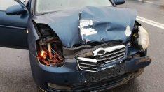 Maça giden hakemler kaza yaptı: 4 yaralı