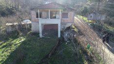 Ordu'da heyelan riski nedeniyle bazı evler boşaltıldı