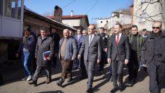 Vali Yavuz, Aybastı'da Meydana Gelen Heyelanı Yerinde İnceledi