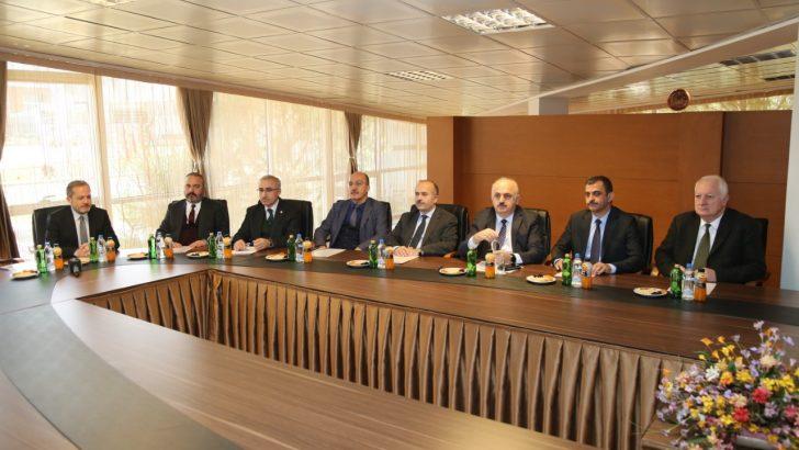 Bölge Rektörleri Ordu Üniversitesinde Toplandı