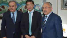 Japonya'nın Ankara Büyükelçisi Miyajima Ordu'da