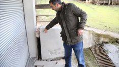 Ordu'da tahliye kararı verilen evler boşaltılıyor