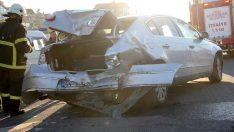 Ordu'da zincirleme trafik kazası: 4 yaralı
