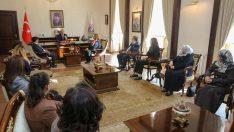 Kadın Temsilcileri, Dünya Kadınlar Günü Münasebetiyle Vali Yavuz'u Ziyaret Etti