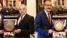 Vali Yavuz, Belediye Başkanlarına Hizmetlerinden Dolayı Teşekkür Etti