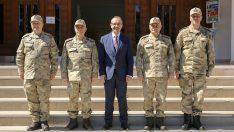 Jandarma Genel Komutanı Orgeneral Çetin, Vali Yavuz'u Ziyaret Etti