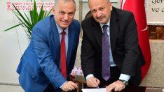 Ünye Belediyesinde Sosyal Denge Sözleşmesi imzalandı