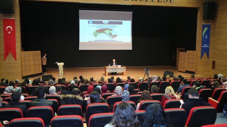 ODÜ'de Dünya Dili Türkçenin Dünü, Bugünü ve Geleceği Konuşuldu.