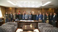 Başkan Güler gazetecileri ağırladı