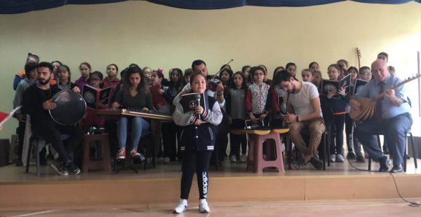 Ordu'da öğrencilerden yaşlılara konser