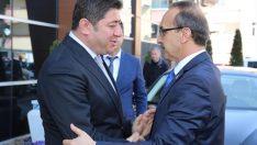 Vali Yavuz'dan belediye başkanlarına ziyaret