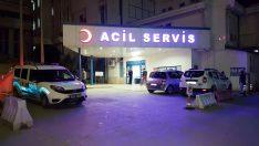 Yaya geçidinde kaza: 2 yaralı