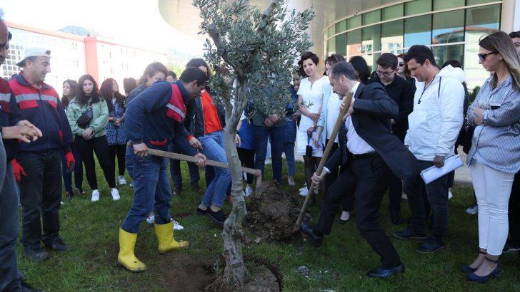 Ordu Üniversitesi Peyzaj Mimarlık Gününü Bahçede Kutlandı.