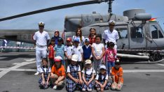 TCG Fatih Gemisi Ordu'da