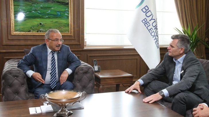 Turkcell yönetiminden Ordu Büyükşehir Belediye Başkanı Güler'e ziyaret