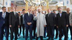Yusuf Bahri Anadolu İmam Hatip Lisesi Tatbikat Camisi açılışı