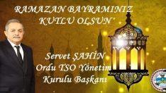 OTSO Ramazan Bayramınız Kutlu Olsun