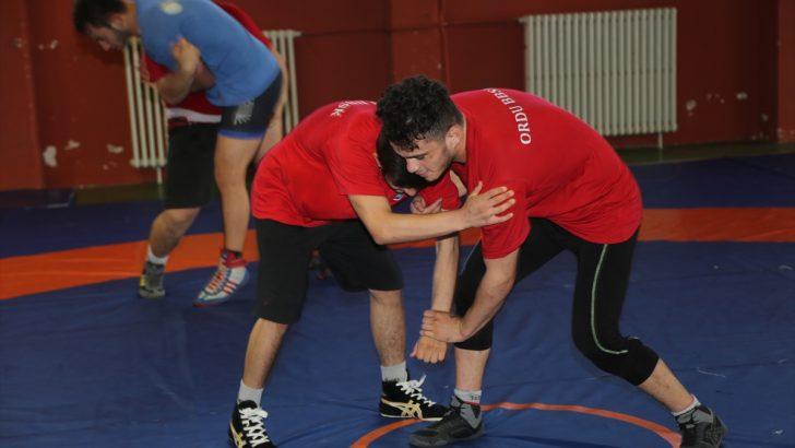 Ordulu milli güreşçilerin hedefi Avrupa şampiyonluğu