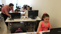 Samsun'da çocuklara yazılım ve kodlama eğitimi