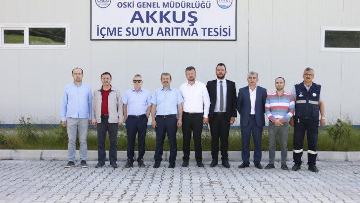 OSKİ'DEN AKKUŞ'A ÇIKARMA