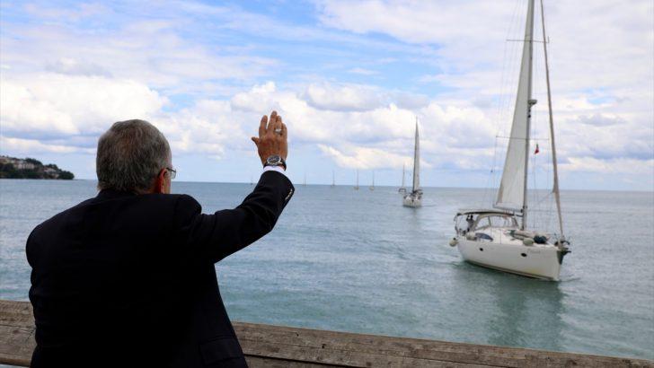 """Deniz tutkunlarından """"DADDralli Karadeniz"""" etkinliği"""