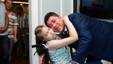 Epilepsi hastası Sudenur'a sürpriz doğum günü