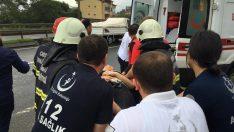 Ordu'da yolcu otobüsü minibüsle çarpıştı: 8 yaralı