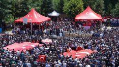 Şehit Piyade Sözleşmeli Er Salih Altuntaş son yolculuğuna uğurlandı
