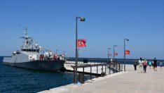 TCG Karabiga Gemisi Ordu'da