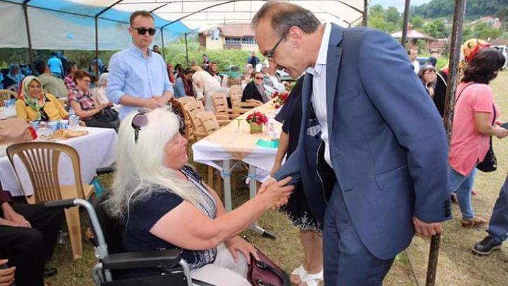 Vali Yavuz, Engellilerle Piknik ve Konser Etkinliğinde Bir Arada Oldu