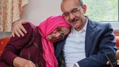 Vali Yavuz'dan, Kıbrıs şehidinin eşine ziyaret