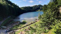 Ulugöl Tabiat Parkı'nı bayramda 40 bin kişi ziyaret etti