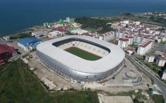 Ordu'daki yeni stad bitirilecek