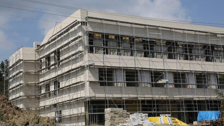 Ulubey Devlet Hastanesi inşaatında sona doğru