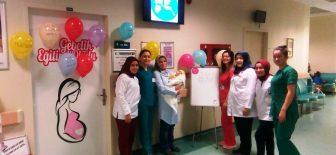 Ünye Devlet Hastanesinde  Dünya Emzirme Haftası kutlandı
