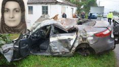 Ordu'da otomobil şarampole devrildi: 1 ölü, 1 yaralı