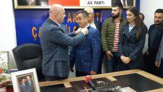 Çamaş'ta AK Parti'ye Yoğun Katılım
