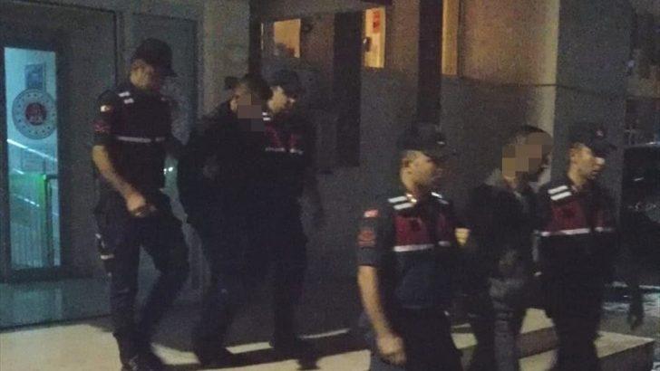 Ordu'da fındık hırsızları tutuklandı