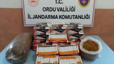 Ordu'da kaçak sigara operasyonu